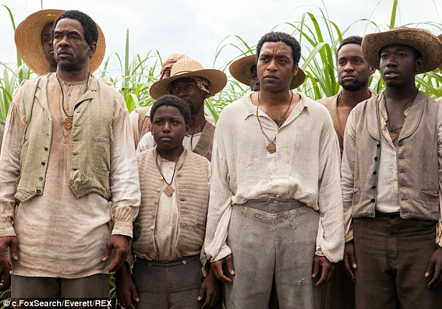 That's the spirit: Director Steve McQueen's 12 Years A Slave has been nominated for seven Spirit Awards honouring independent films with budgets under $20 million, giving it some clout going into Oscar season