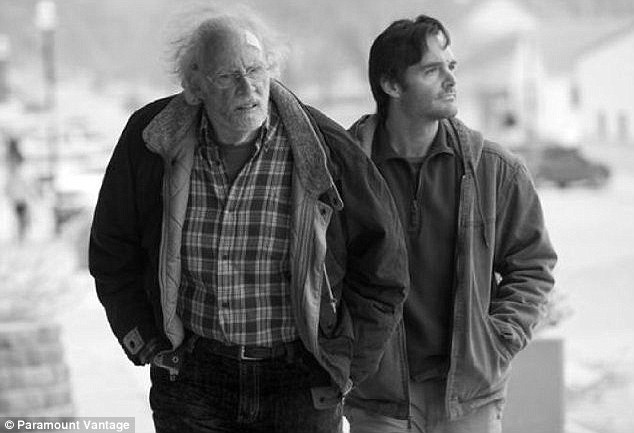 State of play: Nebraska, shot by director Alexander Payne in black and white, will vie for six honours including best actor for Bruce Dern