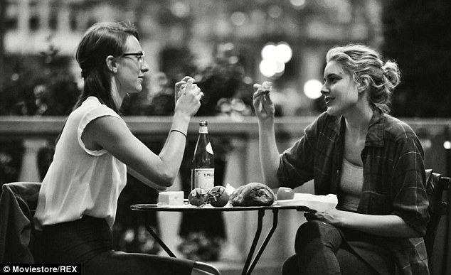 Taking a bite out of the Big Apple: Noel Baumbach's New York-set Frances Ha, another black and white offering, is among the five movies vying for best picture