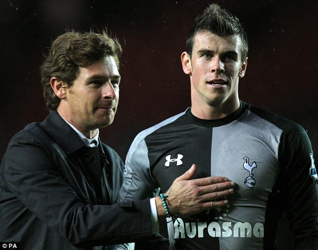 Lost some magic: Gareth Bale, who moved to Real Madrid in the summer, would often pull Spurs out of trouble