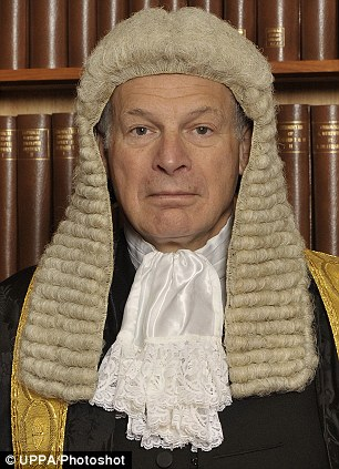 Controversial: Lord Neuberger, president of the Supreme Court, says short sentences are bad for criminals