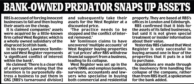 Bank-owned predator snaps up assets