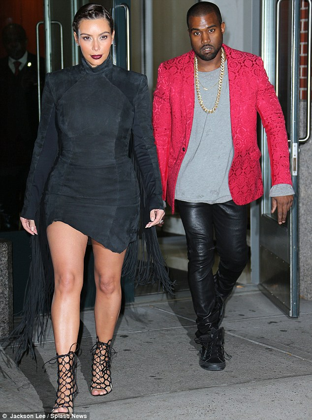 Changing America one marriage at a time: Kanye said Kim Kardashian's family is changing the perception of interracial relationships
