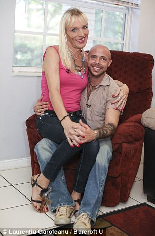 Support: Within a year of meeting each other Mark, who transitioned in 2003, helped Jessica find the confidence to remove her testicles earlier this year'