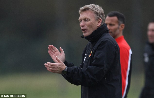 The right mentality: Moyes says that he doesn't want to try and change Rooney's attitude