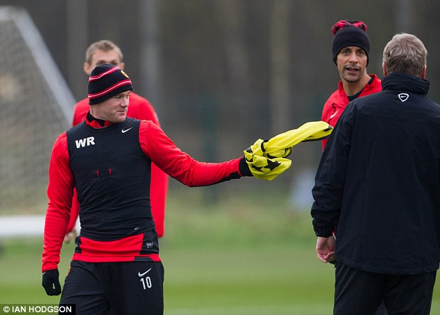 Fire in the belly: Wayne Rooney plays best when he is aggressive, according to manager David Moyes