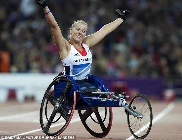 Nominee: Hannah Cockcroft holds the Paralympic and world records for the 100m T34 and 200m T34