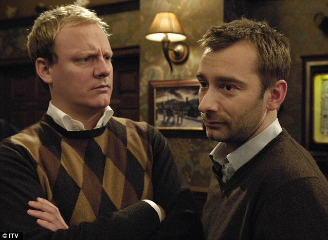Lovers: Marcus had an on/off relationship with Sean Tulley, played by Anthony Cotton