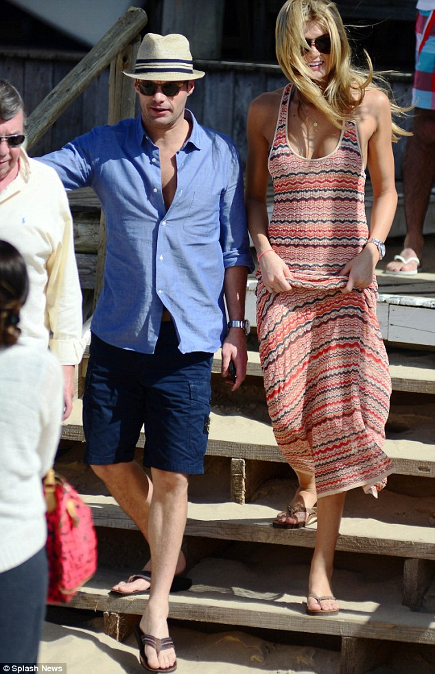 Julianne's ex: Meanwhile, Ryan Seacrest was last linked with Sports Illustrated model Shayna Terese Taylor after the pair dined in Uruguay last November