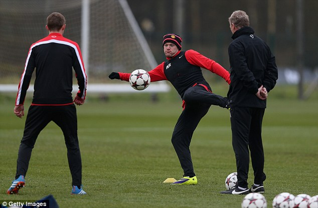 Volley: Rooney scored against Cardiff on Sunday despite his misdemeanor