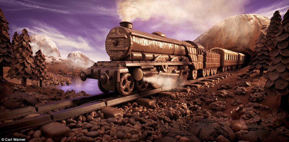 On the right tracks: Mr Warner's Chocolate Express