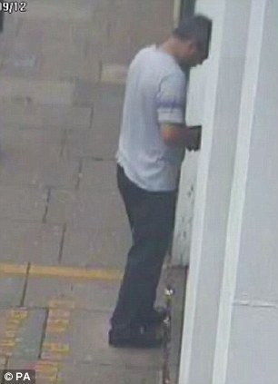 CCTV footage shows conman Rakesh Bhayani withdrawing money from Barclays