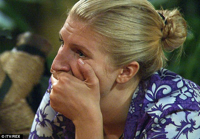 What's the problem? Rebecca has been excused from three Bush Tucker trials so far on the show