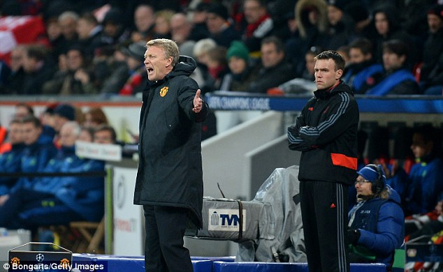 Positive feeling: David Moyes has said that even better days are to come for United