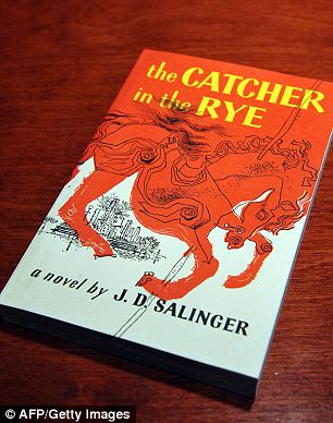 """A January 28, 2010 photo shows a copies of """"The Catcher in the Rye"""" by author J.D. Salinger at a"""