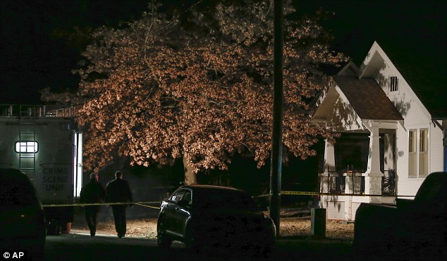 Investigation: Officers are still collecting evidence at Cami Umbarger's home