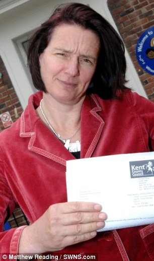'Scrooge': Jane Porter, Headteacher of Whitehill Primary School in Gravesend, has defended her ban on Christmas