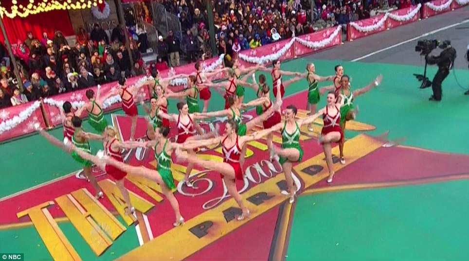 Holiday spectacular: The Rockettes dance company was founded in 1924 and has been performing at the Radio City Music Hall since 1932