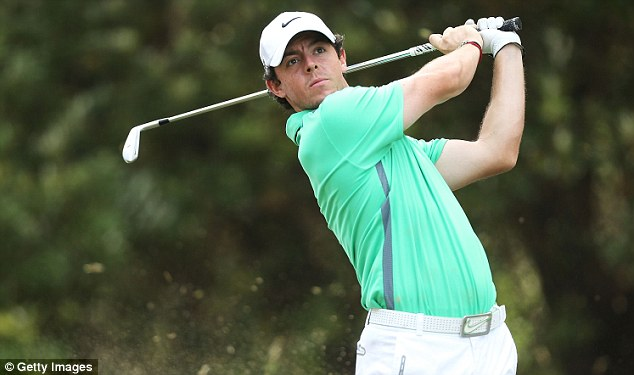 Swinging for the English: Rory McIlroy's comment that he wants Australia to win the Ashes was unwise