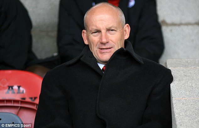 Expected to resign: Crawley may find themselves without the services of director of football Steve Coppell