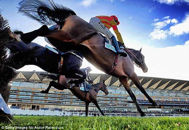 Disgraced: Ascot racecourse (above) need a new financial director after Andrew Flitcroft stepped down