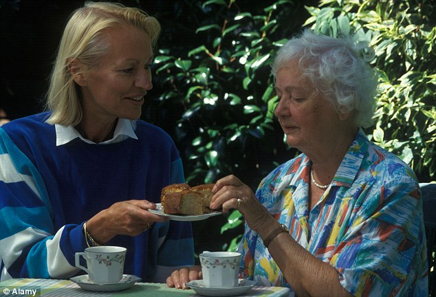 Amanda Platell says that her friendship with her elderly neighbour Gary has improved her life (stock photo)