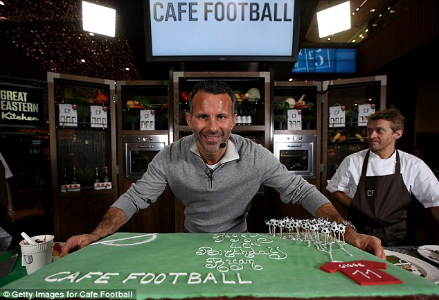 How old? Ryan Giggs turned 40 on Friday, but is still playing at the highest level