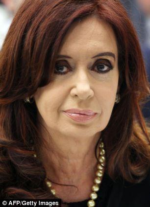 Argentina president Cristina Fernandez de Kirchner has upped her rhetoric against Britain over the past year