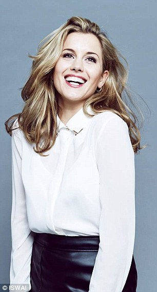 Business brain: Caggie set up ISWAI back in 2012 with her mother and it is similar in style to Asos