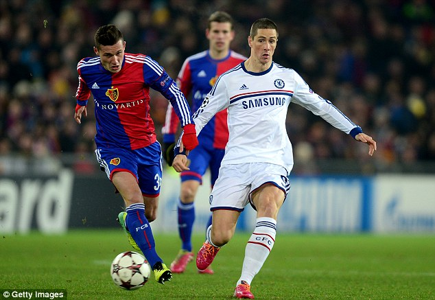 Misfiring? But Chelsea will keep faith with their frontmen, including Fernando Torres (right)