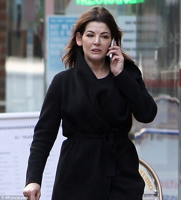 Allegations: The sisters, who are on trial for fraud, claim Nigella had a 'very sensitive' cocaine habit