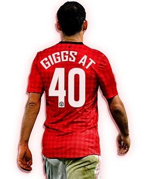 Big day: Giggs turns 40 on Friday November 29