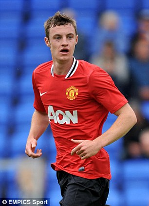 One for the future: Manchester United's Will Keane is on loan at Wigan