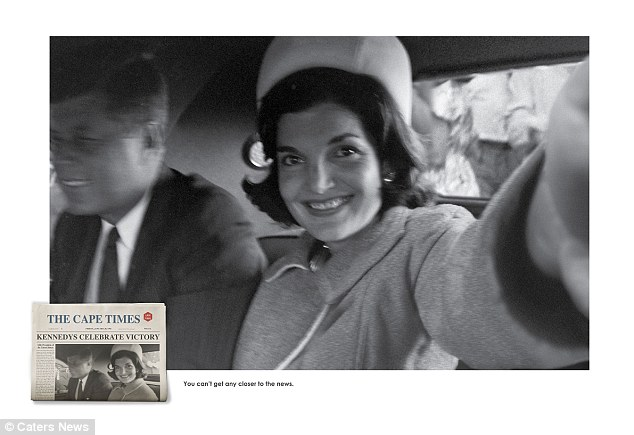 The Kennedys: A smiling Jackie Kennedy captures a moment with husband John F Kennedy in 1960, before he was elected president and three years before his assassination
