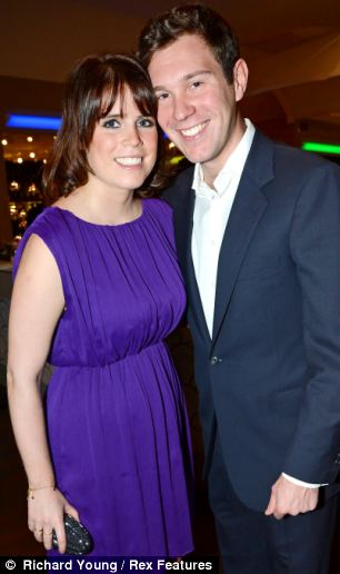 I'Very serious': Princess Eugenie has dated Jack Brooksbank for three-and-a-half years