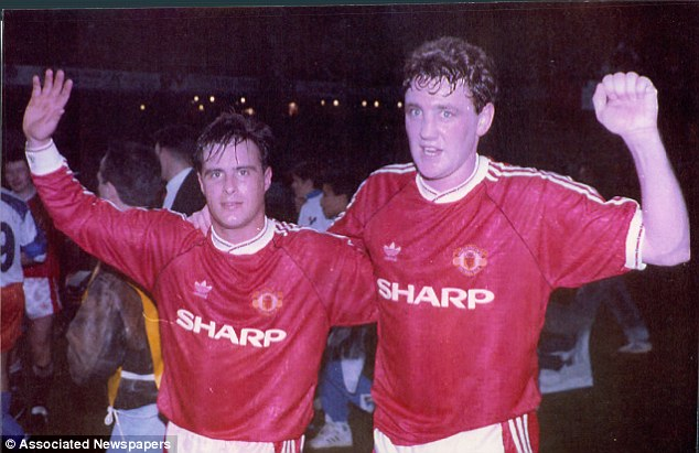 Full of praise: Steve Bruce (right) hailed Harrison's youth team, the likes of which we many never again see