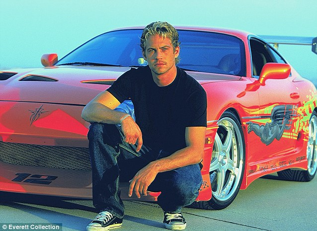 Taking the lead: Paul's Hollywood status was cemented with 2001's The Fast And The Furious