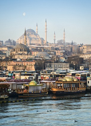 The world's trading post: The Suleymaniye Mosque seen from the Golden Horn