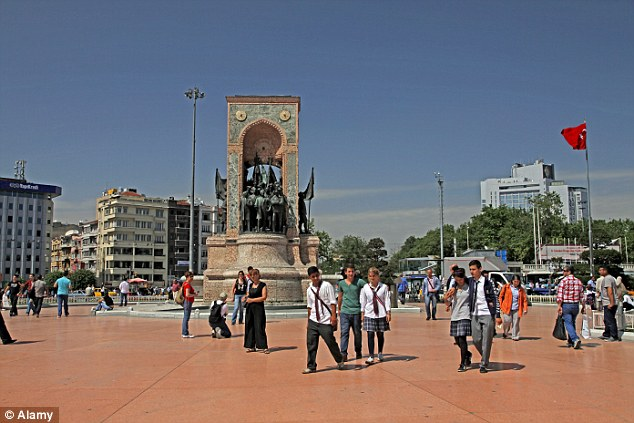 Taksim Square is the centre of 21st Century, liberal, funky Istanbul and the setting of recent protests