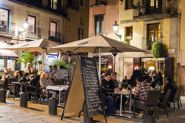 Lively: With a climate that remains good all year round you can enjoy wine and tapas at a street cafe