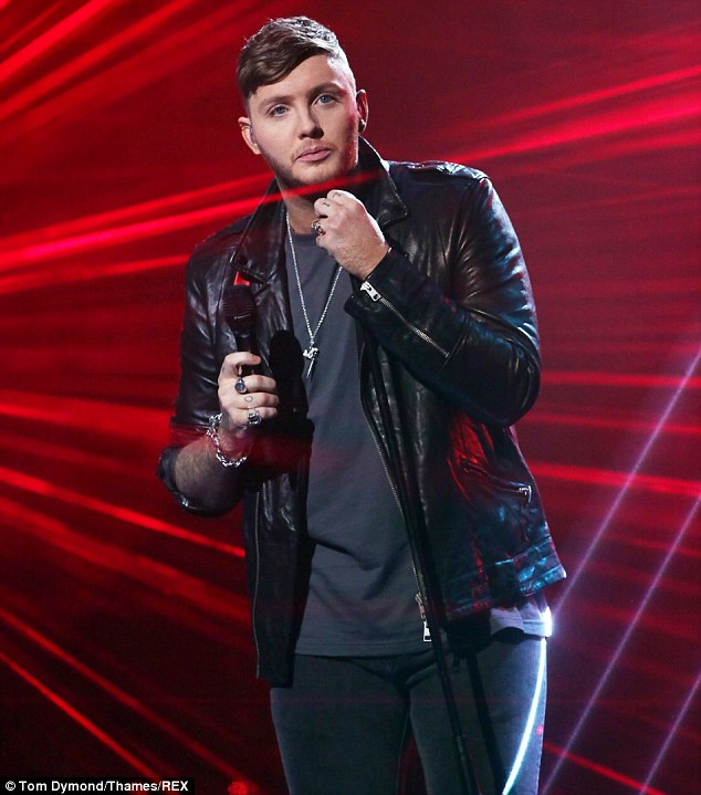 Moving on: Using the platform to document his regret over his actions of late, the 25-year-old singer admitted to host Dermot O'Leary that he had made some 'very silly mistakes' and 'abused' his position as an X Factor winner