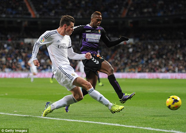 Impact: Bale has started to win over his critics in Spain following a stuttering start to his Madrid career