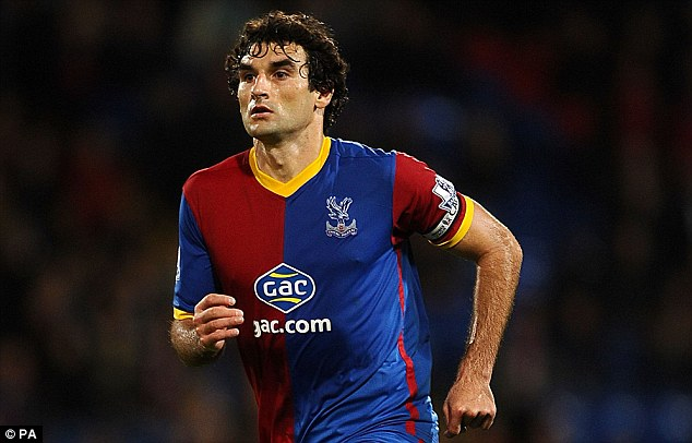 Team player: Jedinak has made a good first impression on manager Pulis who joined Crystal Palace last week