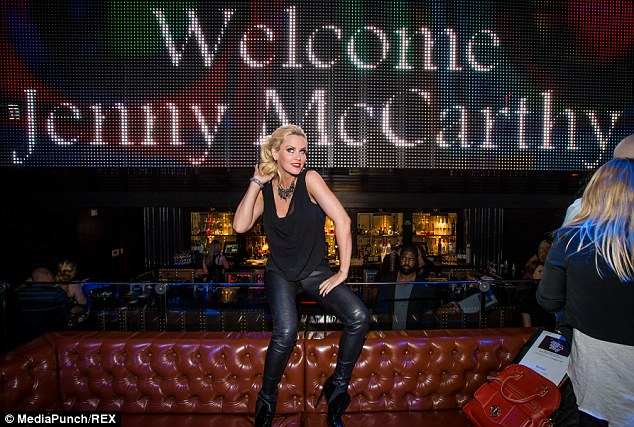 Star of the show: The 41-year-old comedienne's after-party took place at the Body English Nightclub & Afterhours at Hard Rock Hotel & Casino