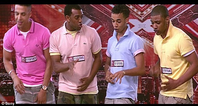 On the back-burner: Marvin says he put his DJing to one side when he and JLS decided to audition for the X Factor