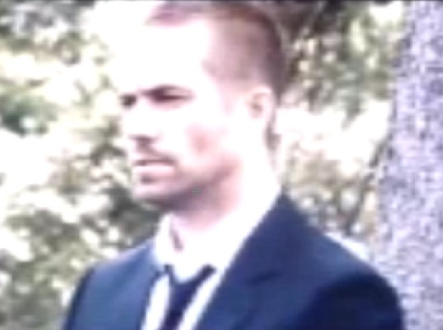 Preview: This haunting clip of tragic actor Paul Walker promising there would be 'just one more' funeral in the next Fast & Furious film has leaked online