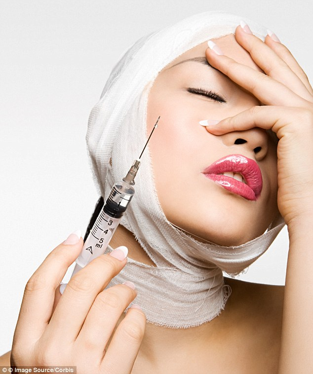 Around four per cent of people undergoing non-surgical cosmetic procedures even administer the treatments themselves