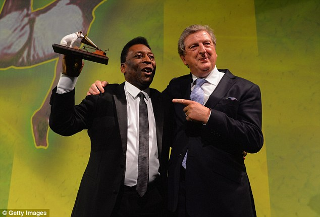 Invited: Pele (left) will be a part of Friday's draw in Bahia for the 2014 World Cup Finals