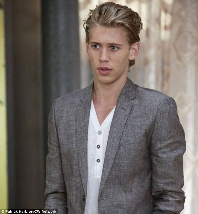 Teen heartthrob: Austin currently plays the role of Sebastian Kydd in television series The Carrie Diaries