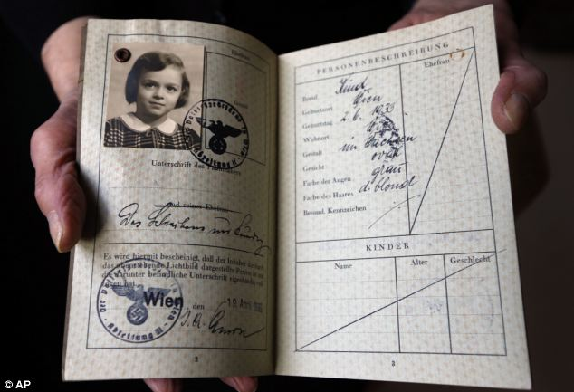 Ms Willman was one of 10,000 children saved from the Nazis by the Kindertransport. On Monday, World Kindertransport Day will mark 75 years since the first children arrived in Britain